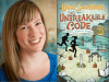 Jennifer Chambliss Bertman author photo and Unbreakable Code cover image