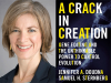 Jennifer A Doudna author photo and A Crack in Creation cover image