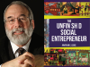Johnathan Lewis author photo and The Unfinished Social Entrepreneur cover image