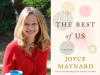 Joyce Maynard author photo and The Best of Us cover image