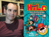 Judd Winick author photo and HiLo #5 cover image