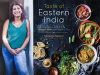 Kankana Saxena author photo and Taste of Eastern India cover image