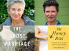 The ghost Marriage and Honey Bus book covers with author photos