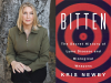 Kris Newby author photo and Bitten cover image