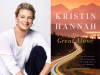 Kristin Hannah author photo and The Great Alone cover image