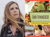 Laura Smith Borrman author photo and Iconic San Francisco Dishes, Drinks and Desserts cover image