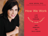 Leah Weiss author photo and How We Work cover image