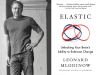 Leonard Mlodinow author photo and Elastic cover image
