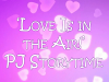 Love Is in the Air storytime banner