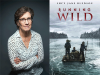 Lucy Jane Bledsoe author photo and Running Wild cover image