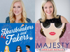 heartbreakers and fakers books cover with majesty book cover