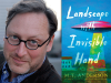 M.T. Anderson author photo and Landscape with Invisible Hand cover image