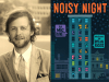 Mac Barnett author photo and Noisy Night cover image