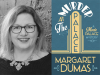 Margaret Dumas author photo and Murder at the Palace cover image
