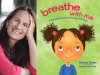 Mariam Gates author photo and Breathe with Me cover image