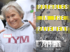 Marilyn Siden author photo and Potholes in the Pavement cover image