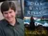 Mark Noce author photo and Dark Winds Rising cover image