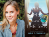Meg Donohue author photo and You Me and the Sea Cover image
