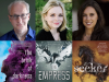 author and cover images for Jeff Giles, SJ Kincaid, and Veronica Rossi