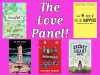 Love Panel event banner with cover images