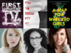 Author photos and cover images for Alexandra Sirowy, Stephanie Kuehn, and Jessica Taylor