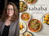 Adeena Sussman author photo and sababa cover image