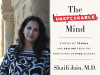 Shali Jain author photo and The Unspeakable Mind cover image