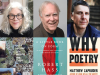Author and cover images for Brenda Hillman, Robert Hass & Matthew Zapruder