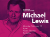 Michael Lewis author photo event announcement