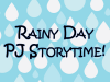 Rainy Day Storytime banner