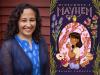 Rajani LaRocca author photo and Midsummer's Mayhem cover image