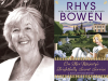 Rhys Bowen author photo and On Her Majesty's Frightfully Secret Service cover image