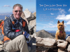 Rick Crandall author photo and The Dog Who Took Me Up the Mountain Cover image