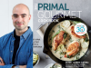 Ronny Joseph Lvovksi author photo and Primal Gourmet cover image