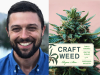 Ryan Stoa author photo and Craft Weed cover image