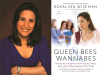 Rosalind Wiseman author photo and Queen Bees and Wannabes cover image