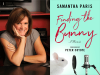 Samantha Paris author photo and Finding the Bunny cover image