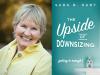 Sara B. Hart author photo and The Upside of Downsizing cover image