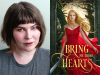 Sara Wolf author photo and Bring Me Their Hearts cover image