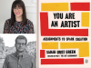 Sarah and John Green author photos and You Are an Artist cover image