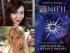 Sasha Alsberg & Lindsay Cummings author photos & Zenith cover image
