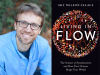 Sky Nelson-Isaacs author photo and Living in Flow cover image