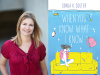 Sonja K. Solter author photo and When You Know What I Know cover image