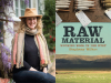 Stephany Wilkes author photo and Raw Material cover image
