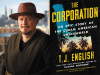 TJ English author photo and The Corporation cover image