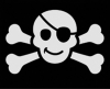 cute skull and crossbones