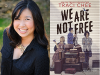 Traci Chee author photo and We Are Not Free cover image
