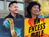 Author photos and cropped cover images for Mike Chen and Maggie Shen King