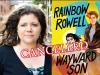 Rainbow Rowell author photo and Wayward Son cover image