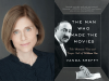 Vanda Krefft author photo and The Man Who Made the Movies cover image